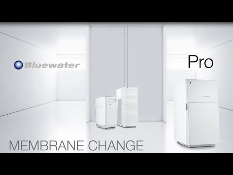 Changing the membrane in your Bluewater Pro