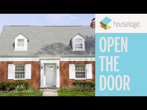 Looking for front door paint ideas? Change up your front door with a pop of color for bright curb appeal and high ROI. Subscribe to HouseLogic and get more DIYLogic tips at https://www.houselogic.com. #DIYLogic