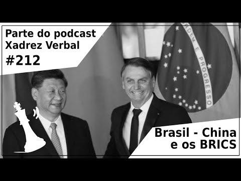 Brasil - China e os BRICS - Xadrez Verbal Podcast