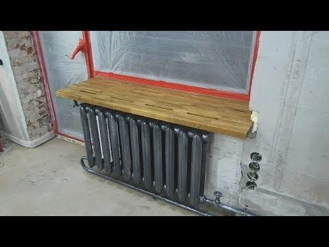 Установка деревянного подоконника, покраска батарей, ремонт кладки. ПЕРЕДЕЛКА ХРУЩЕВКИ ОТ А до Я #14 photo