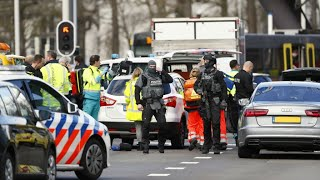 "Netherlands: Several injured in shooting ""inside a tram carriage"" in Utrecht"