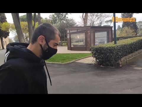 Video - Mkhitaryan a Villa Stuart in stampelle: lesione al polpaccio