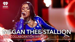 Megan Thee Stallion Acceptance Speech - Best Collaboration | 2021 iHeartRadio Music Awards