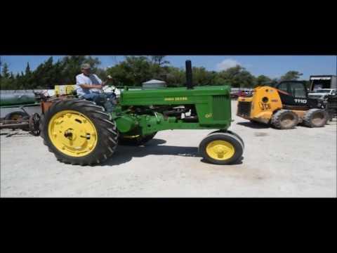 1952 John Deere M60 tractor for sale | no-reserve Internet auction September 14, 2016