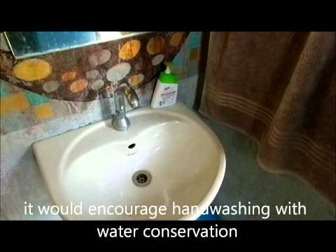 Foot Tap - a water conservation device