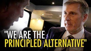Interviewing Maxime Bernier: Selling the CBC, dividing the right?   David Menzies