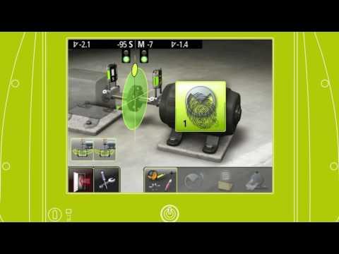 Fixturlaser NXA Touch Tip   Screen Flip