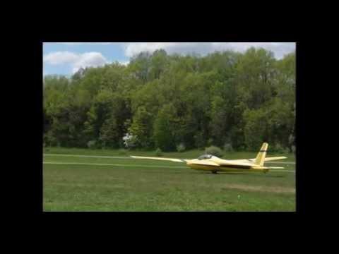 My first glider flight