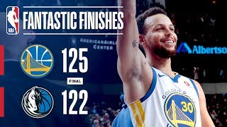 The Warriors and Mavericks Engage in a Fantastic Finish   January 3, 2018