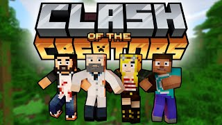 Collecting All The Bedrock Achievements! - Minecraft Clash Of The Creators
