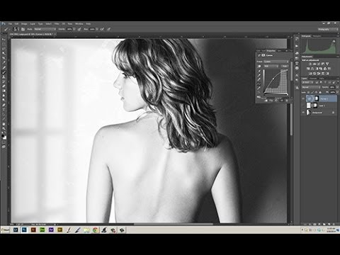 Casting Light and Shadow with Curves Adjustment Layers in Adobe Photoshop