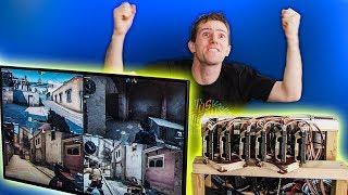 The $100,000 PC LIVES! - 6 Editors 1 CPU Pt. 5