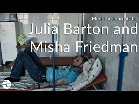 Meet the Journalists: Julia Barton and Misha Friedman