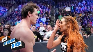Top 10 SmackDown Live moments: WWE Top 10, January 1, 2019