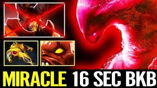 WTF!? Miracle Dota 2 [Morphling] 16 Seconds BKB - For Real?