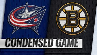 03/16/19 Condensed Game: Blue Jackets @ Bruins