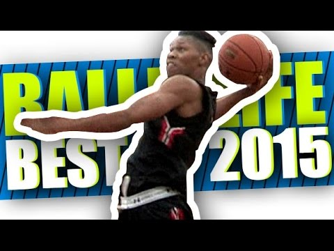 BEST of Ballislife 2015! The Most AMAZING Dunks, Ankle Breakers & Plays of The Year!!
