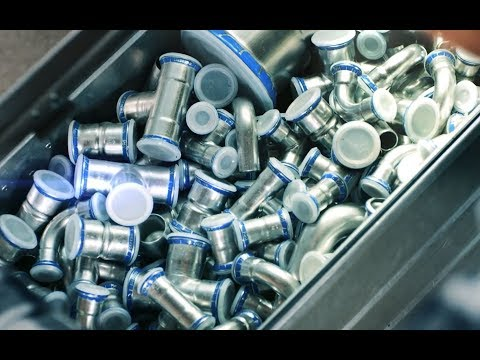 Geberit Mapress Connects - 1 Billion Mapress Fittings