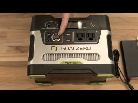 Goal Zero Yeti 400 Power Pack Generator