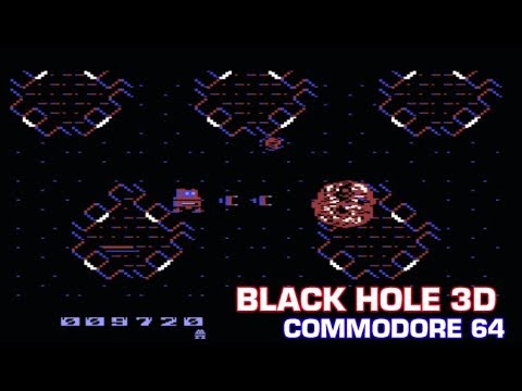 Black Hole 3D : Game Commodore 64 - Seuck