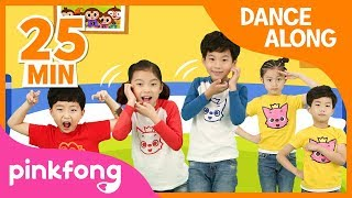 Five Little Monkeys and more | Best Kids Dance Along | +Compilation | Pinkfong Songs for Children