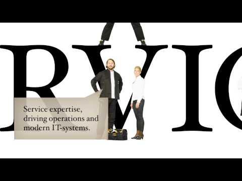 Presentasjon av Coor Service Management (engelsk)