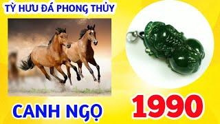TỲ HƯU PHONG THỦY HỢP TUỔI CANH NGỌ - 1990 LỘ BÀNG THỔ I Ý NGHĨA TỲ HƯU ĐÁ PHONG THỦY THEO TUỔI