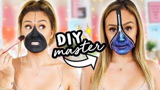 DIY MASTER EP 7: Halloween Zipper Face Makeup