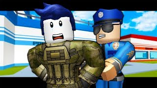 THE LAST GUEST WAS ARRESTED?! ( A Roblox Jailbreak Story)