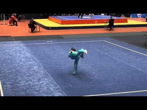 15th European Wushu Champ. - JSF comp 15-17 - Ben Dom Roni - Israel - 8.07 / 15 европейских ушу Champ. -Comp JSF 15-17-Dom Рони Бен - Израиль - 8,07