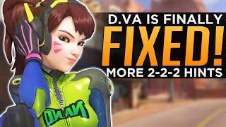 Overwatch: D.Va Finally FIXED! - More 2-2-2 Hints!