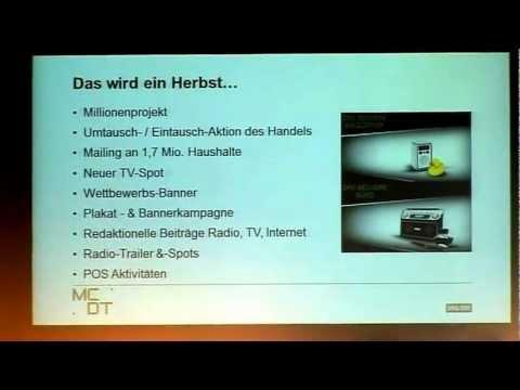 Vortrag: Béatrice Merlach über DAB+ INTERNATIONAL