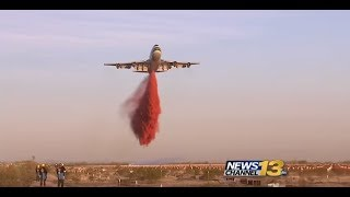 CALIFORNIA THOMAS FIRE EASILY PUT OUT BY GLOBAL SUPERTANKER BUT IT'S NOT DEPLOYED WHY?