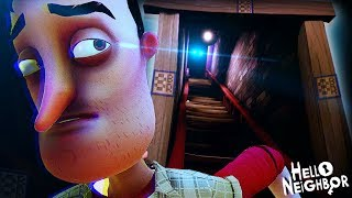 OK... WHY IS HE IN THE FINAL BASEMENT!?    Hello Neighbor (ACT 3 + Secrets)