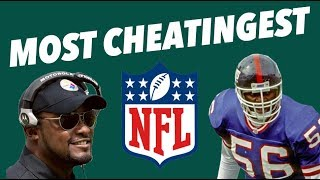 EVERY NFL TEAM'S MOST CHEATINGEST MOMENT - Biggest NFL Cheats