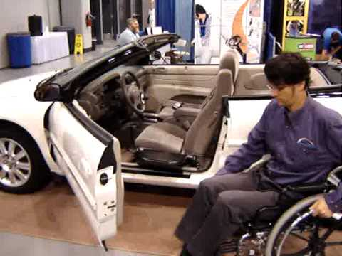 Cool Wheelchair Transfer Device Allows Easy Transfers Into