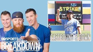 The LA Dodgers Break Down Baseball Movies | GQ Sports