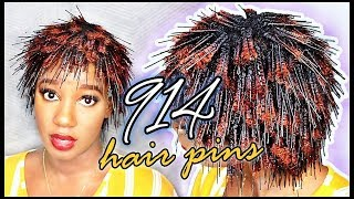 48 HOURS, 914 HAIR PINS... these CURLS had me *SHOOK*