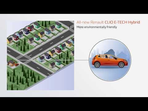 E-TECH - Hybridmotor: Upp till 80 % eldrift