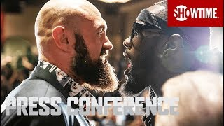 Wilder vs. Fury: Fight Week Press Conference | Dec. 1 on SHOWTIME PPV