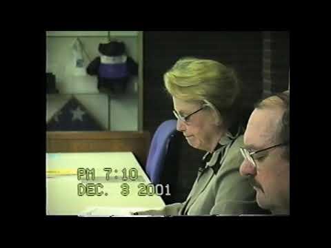 Clinton County Budget Hearing  12-3-01
