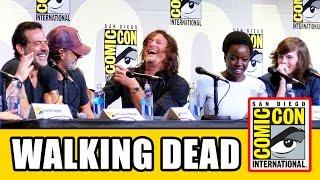THE WALKING DEAD Comic Con Panel (Part 1) - Season 7, Norman Reedus, Andrew Lincoln