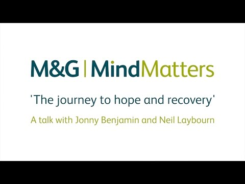 M&G Mind Matters launch event with Jonny Benjamin and Neil Laybourn