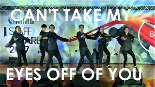 Can't Take My Eyes Off Of You | CBXT Dance Club Cover @ 2017 MMU Staff Award