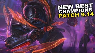 New Best Champions for Patch 9.14 Season 9 for Climbing in EVERY ROLE