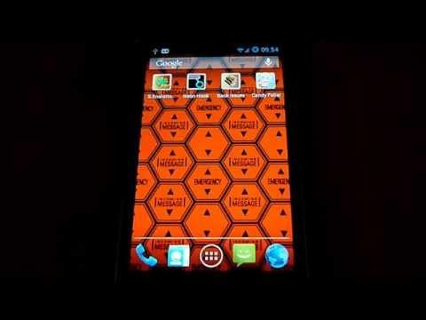 Hexagon Battery Indicator Live Wallpaper Video