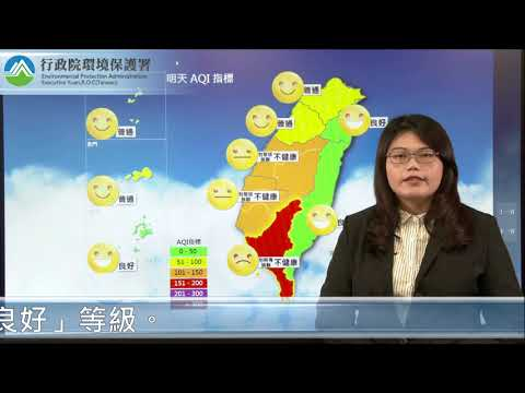 2021/01/13空氣品質預報