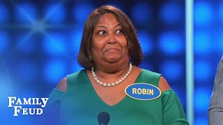 This POPEYE is LOOKING FUNNY!   Celebrity Family Feud