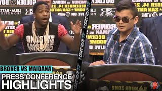 Adrien Broner vs.  Marcos Maidana- Full press conference highlights