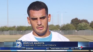 Mariota apologizes for being 'rude and inappropriate' to the media